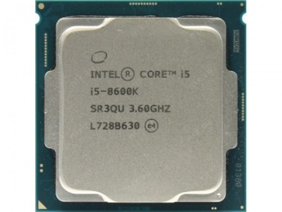Процессор  Intel CPU Desktop Core i5-8600K (3.6GHz, 9MB,LGA1151) box