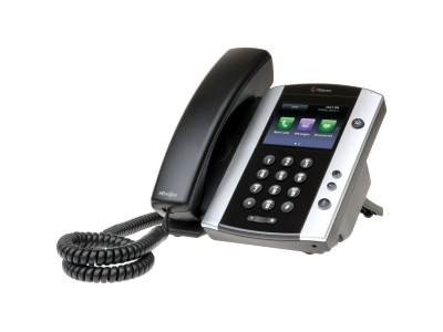 Polycom VVX 501 12-line Business Media Phone with HD Voice. 2200-48500-114