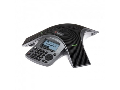 Polycom SoundStation IP 5000 conference phone with factory disabled media encryption. 2200-30900-114