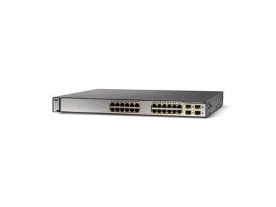 Коммутатор Cisco Catalyst 3750V2 (10/100 Mbit) WS-C3750V2-24PS-S