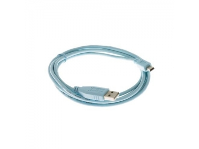 Cisco Console Cable 6 ft with USB Type A and mini-B