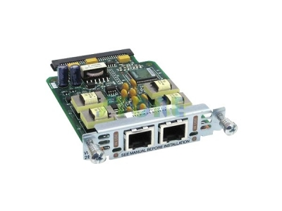 Cisco Two-port Voice Interface Card - E and M